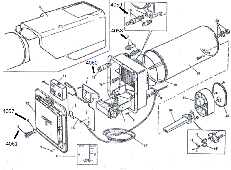 water heater parts